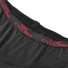 TOP CYCLING SAK360 Cycling Silicone Cushion Thicken Underpants - Black (Size M)