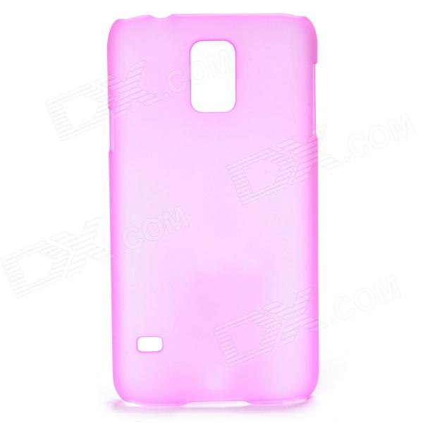 Protective Frosted PC Back Case for Samsung Galaxy S5 - Translucent Black protective matte frosted back case for htc one x s720e black