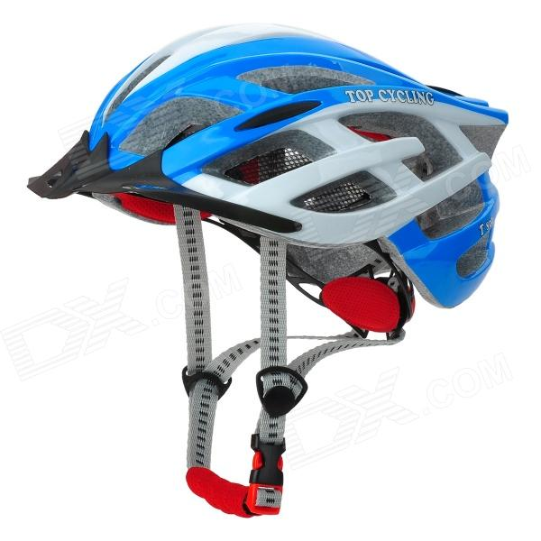 TOPCYCLING T800 Cycling Helmet w/ 3-Mode Flashlight