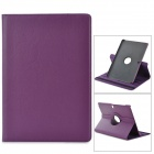 "Stylish Flip-open PU Case w/ 360' Rotating Back for Samsung Galaxy Note 12.2"" P900 - Purple"