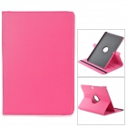 "Stylish Flip-open PU Case w/ 360' Rotating Back for Samsung Galaxy Note 12.2"" P900 - Deep Pink"