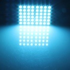 T10 / BA9S / Festoon 8W 400lm 48 x SMD 5050 LED Ice Blue Car Light Reading / Panel de luz - (12V)