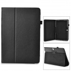 "Protective Flip-open PU Case w/ Holder for Samsung Galaxy Note 12.2"" P900 - Black"