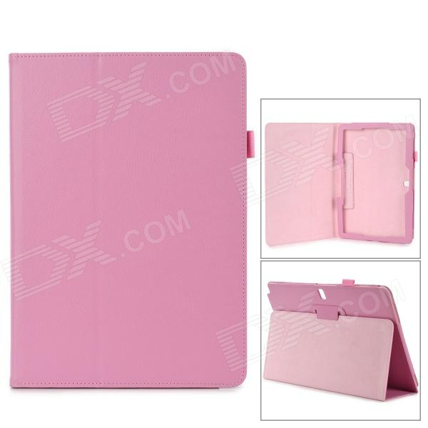 Protective Flip-open PU Case w/ Holder for Samsung Galaxy Note 12.2 P900 - Pink pudini protective flip open pu pc holder case for samsung galaxy note 3 blue