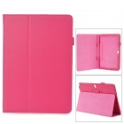 "Protective Flip-open PU Case w/ Holder for Samsung Galaxy Note 12.2"" P900 - Deep Pink"