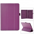"Stylish Flip-open PU Leather Case w/ Holder for ACER Iconia A3~A10 10.1"" - Purple"