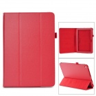 "Stylish Flip-open PU Leather Case w/ Holder for ACER Iconia A3~A10 10.1"" - Red"