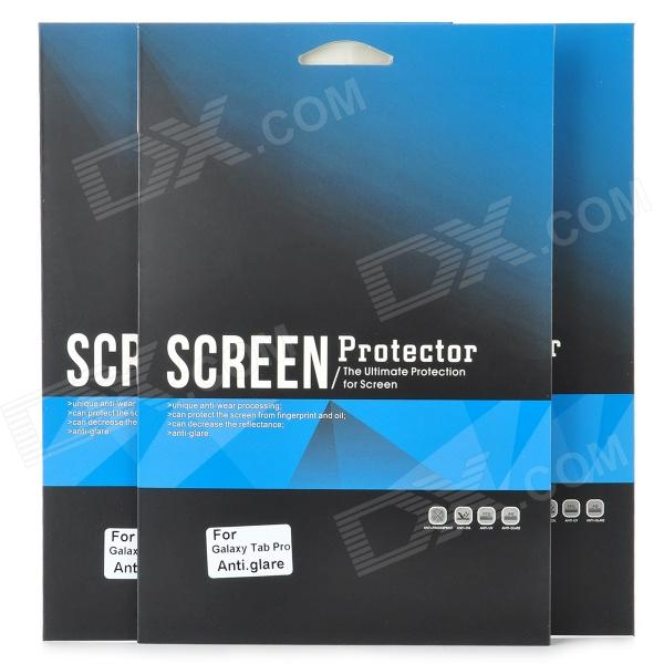 Protector mate PET Screen Guard Film para Samsung Galaxy Tab Pro - Transparente (3 PCS)