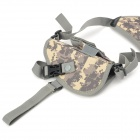 SW2068 600D Oxford Nylon Axillary Holster for Gun - ACU Camouflage