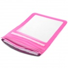 "Protective PVC Waterproof Bag for 11.6"" Tablet PC - Pink"