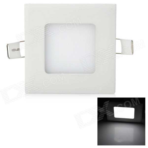 JRLED Ultra-Slim 3W 200lm 6500K 15-SMD 2835 LED White Ceiling Light (85~265V)
