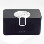 RE-002 Mini Stereo 2-CH Bluetooth v2.1 Speaker w/ Microphone / TF - Black