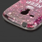 Starlight Pattern Protective TPU Back Case for Samsung Galaxy Trend Duos S7562 / S7560