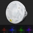 L240 Waterproof Underwater 0.5W Colorful Light LED Lamp - White + Translucent