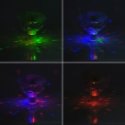 Waterproof Underwater 0.5W Colorful Light LED Lamp - White + Translucent