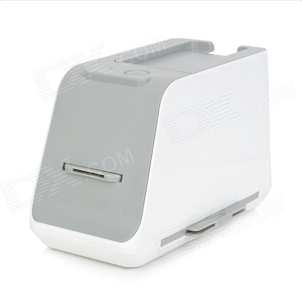 LIT USB Wired 1800dpi Photo / Film Image Scanner for Smartphones - White (4 x AA)