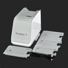 USB Wired 1800dpi Photo / Film Image Scanner for Phones - White