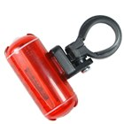 5-LED Safety Bike Tail Mount Light - Black + Red (2*AAA)