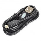IKKI USB 2.0 to Micro USB Charging / Data Cable for Motorola Moto G / DVX - Black (100cm)