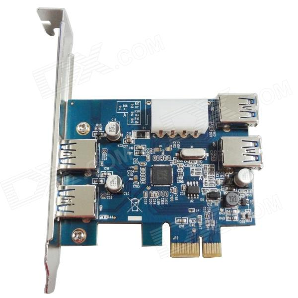 WBTUO LT-307 5Gbps PCI-Express USB 3.0 Card Adapter 2 Internal + 2 External Ports Express Card pci express pci e usb 3 0 card 2 ports expresscard mini usb3 gigabit card adapter for desktop computer 5gbps super speed