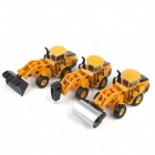 Pull Back Engineering Car Toys Set (3 PCS)