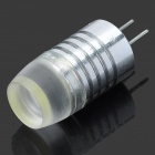 G4 3W 180lm 6000K COB LED White Light Lamp (DC 12V)