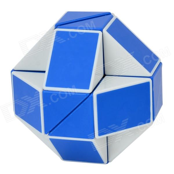 ShengShou Shape Changing Magic Ruler Puzzle - Blue + White new shengshou 10x10x10 magic cube professional pvc