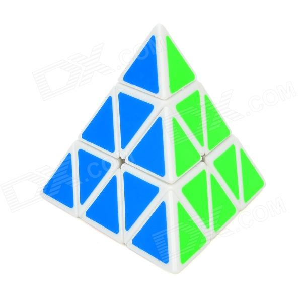 ShengShou Triangle Pyramid Style Magic Cube (White Background)