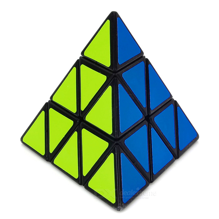 ShengShou Triangle Pyramid Style Magic Cube (Black