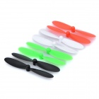 H107C-008 R/C Helicopter Replacement Blades for JD385 - Green + Red