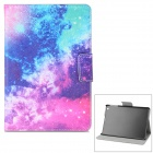 Starry Pattern PU + ABS Case w/ Stand / Auto-Sleep for Retina IPAD MINI / IPAD MINI 1 - Multicolored