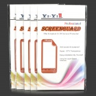 YI-YI Waterproof HD ARM Screen Protector for Samsung Galaxy S5 i9600 - Transparent (5 PCS)