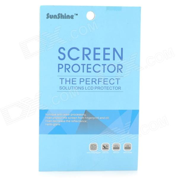 High Quality Anti-scratch Matte Screen Protector for Samsung Galaxy S5 i9600 - Transparent (5 PCS) high quality dust proof pet screen protector for samsung galaxy s5 transparent 2 pcs