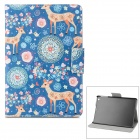 Deer Pattern PU + ABS Case w/ Stand / Auto-Sleep for Retina IPAD MINI / IPAD MINI 1 - Multicolored