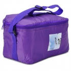 Creeper Oxford Messenger Insulation Bag - Purple