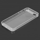 Protective Silicone Back Case for IPHONE 5 / 5S - Translucent White