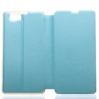 KALAIDENG Protective PU Leather Case Cover Stand for SONY Xperia Z1 Mini M51w - Blue