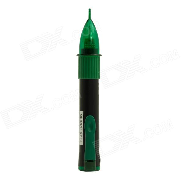 MASTECH MS8900 Pen Style Non-Contact Voltage Detector - Black + Green (2 x AAA)