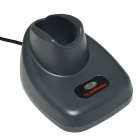 Handheld 1D Wireless Barcode Scanner w / Stand - Gris