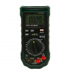 MASTECH MS8265 Digital Multimeter w/ Sound / Light Alarm / Over-Load Protection - Black + Army Green