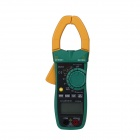 MASTECH MS2026 Auto-Range Digital AC Clamp Multimeter - Yellow + Black + Army Green (1 x 6F22)