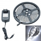 Waterproof 24W 1200lm 300 x SMD 3528 LED Cool White Epoxy Car Decoration Light Strip - (12V / 500cm)