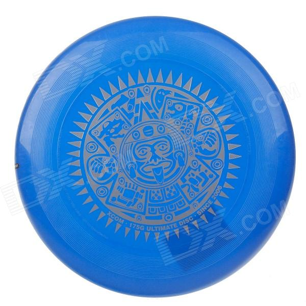 X-COM UP175 Maya Professional Ultimate PE Flying Sport Disc - Blue rgb light flying disc