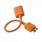 KS-365 USB 2.0 kabel kvinne til mikro-USB 9-pinners mannlige OTG Adapter for Samsung Galaxy Note 3 - oransje