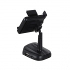 ZnDiy-BRY AD-A11 Smart Stand Car Phone Holder w/ Car Charge / Handsfree / FM Transmitter / TF Card