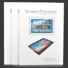 Protective Matte Arm Screen Guard Film for Samsung Galaxy Tab P7500 / P7510 - Transparent (3 PCS)