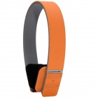 Geekwire Stereo Bluetooth v3.0 + EDR Headset w/ Noise Reduction Directive Mic for IPHONE - Orange