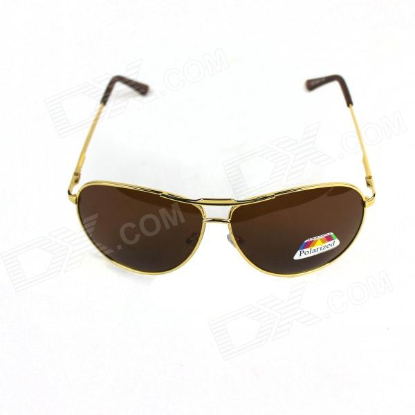 Fashionable Sun Glasses - Golden