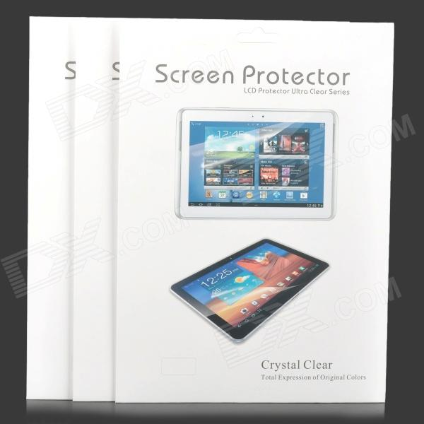 Protective Matte ARM Screen Guard Film for ASUS MeMO Pad FHD 10 ME302C - Transparent (3 PCS)