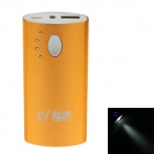 "LANGYUAN LY-205 ""5600mAh"" Mobile Power Source Bank w/ LED Light for Samsung / HTC - Golden"